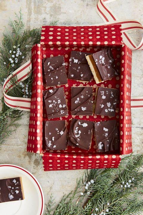 christmas cookies millionaires' shortbread