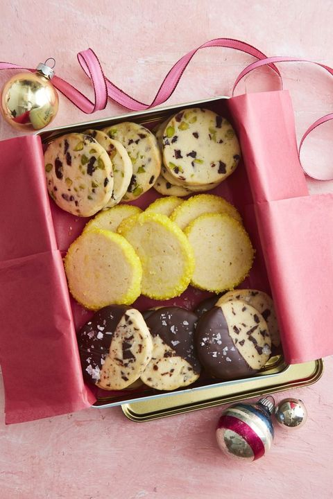 christmas cookies slice and bake shortbread cookies