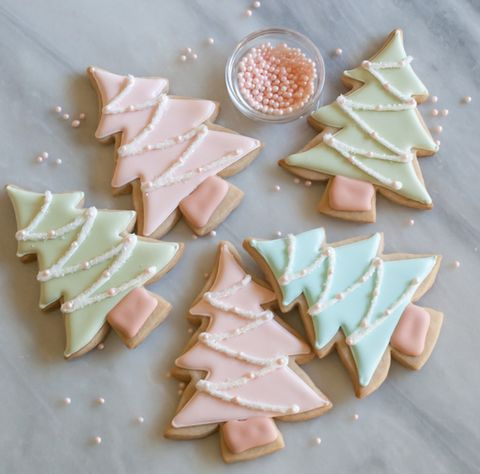 Prettiest Christmas cookies