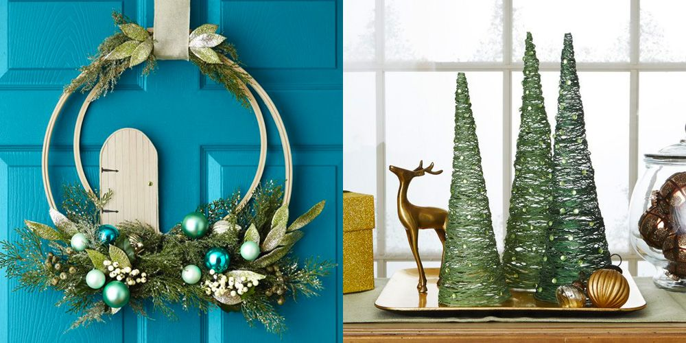 2. Paper Straw Christmas Trees