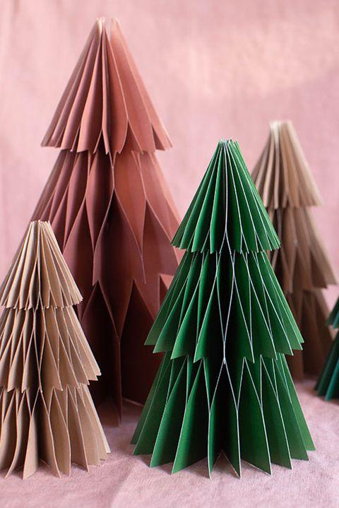 honeycomb paper trees