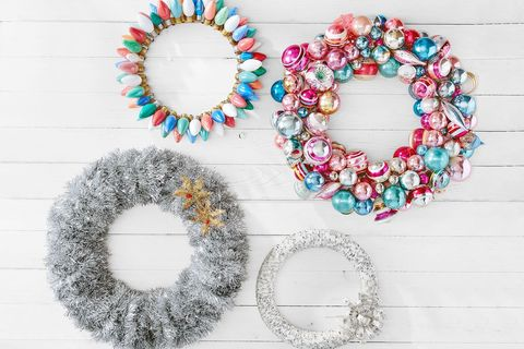 Diy Wreaths Christmas Craft