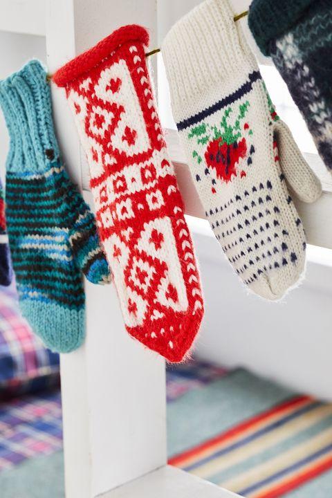 christmas crafts mitten