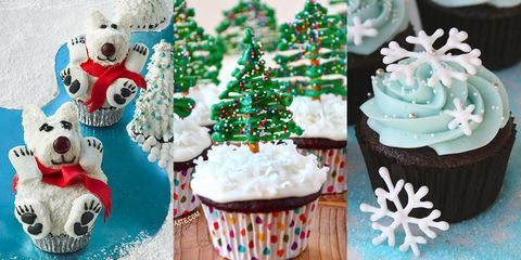 ffb4705c8911 30+ Adorable Cupcakes to Bake for Christmas - Recipes for Christmas ...