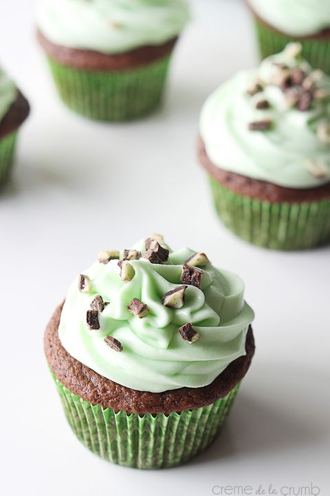 christmas cupcakes andes mint