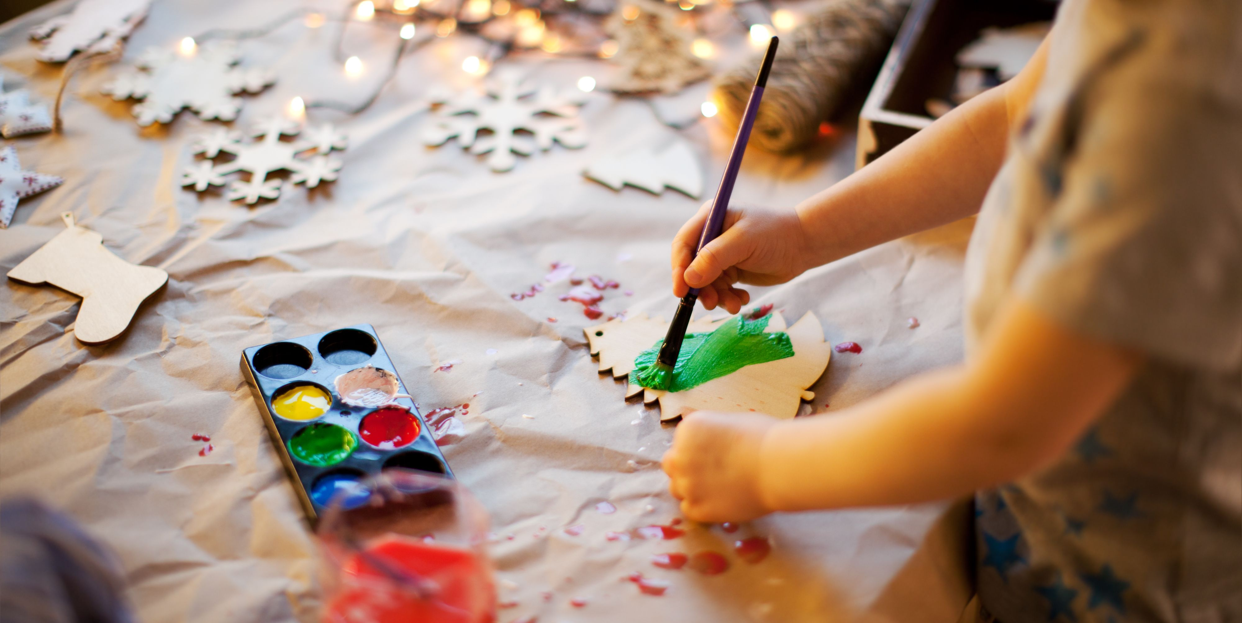 DIY Navidad para hacer con niños