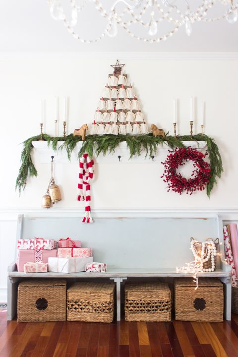 entry christmas decorating idea