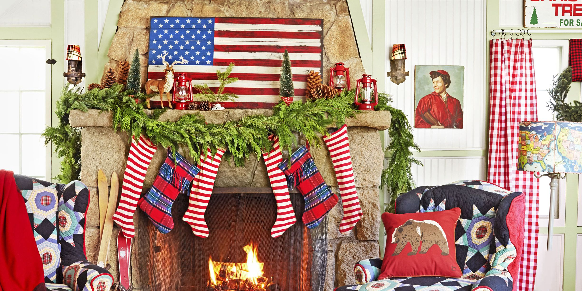 110 country christmas decorations holiday decorating ideas 2018 rh countryliving com