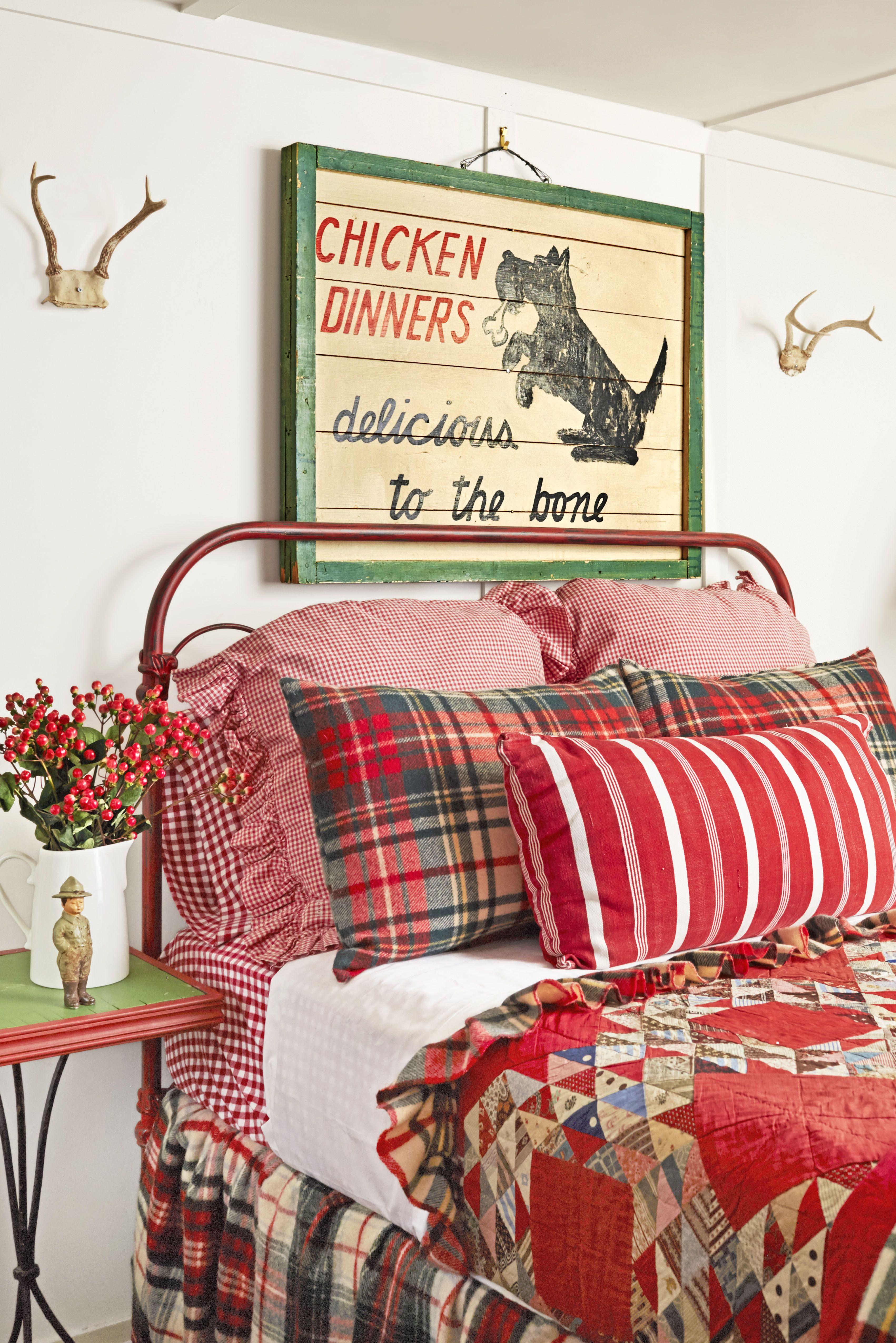 christmas decorating ideas bedroom