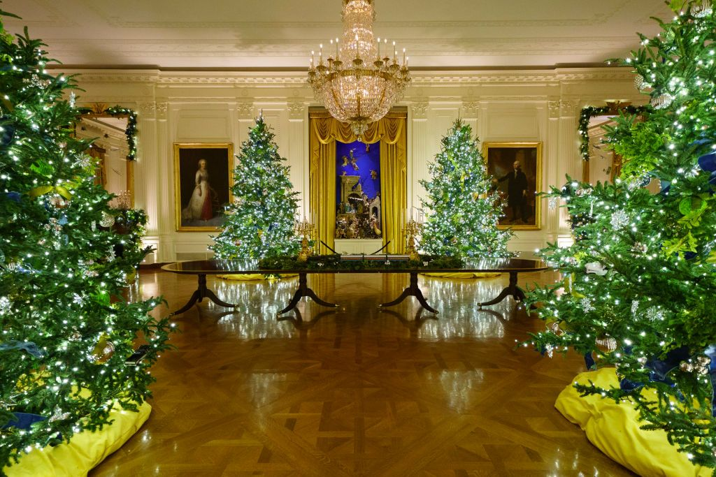 Whitehouse Christmas Trees 2021 Hgtv S Annual White House Christmas Special Is Almost Here
