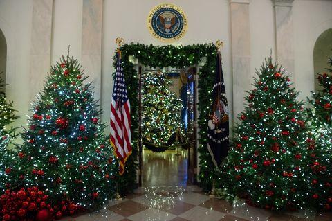 e7a28016cad Así ha decorado Melania Trump la Casa Blanca para la Navidad 2018 ...