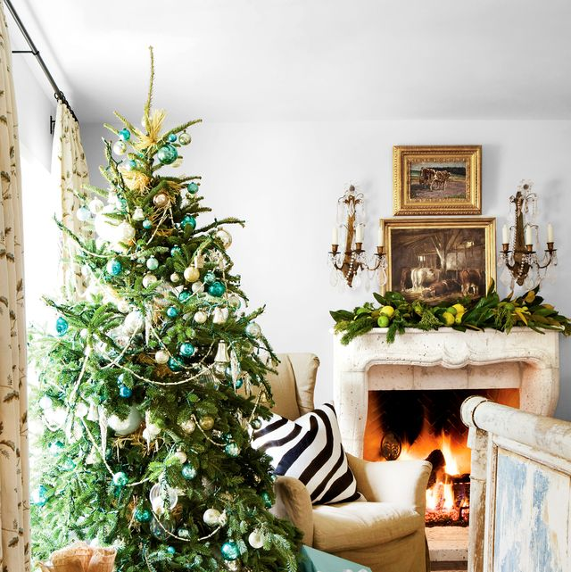 100 Christmas Home Decorating Ideas - Beautiful Christmas ...