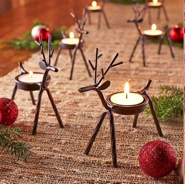 Fun Christmas Table Decorations: 32 Christmas Table Decorations & Centerpieces