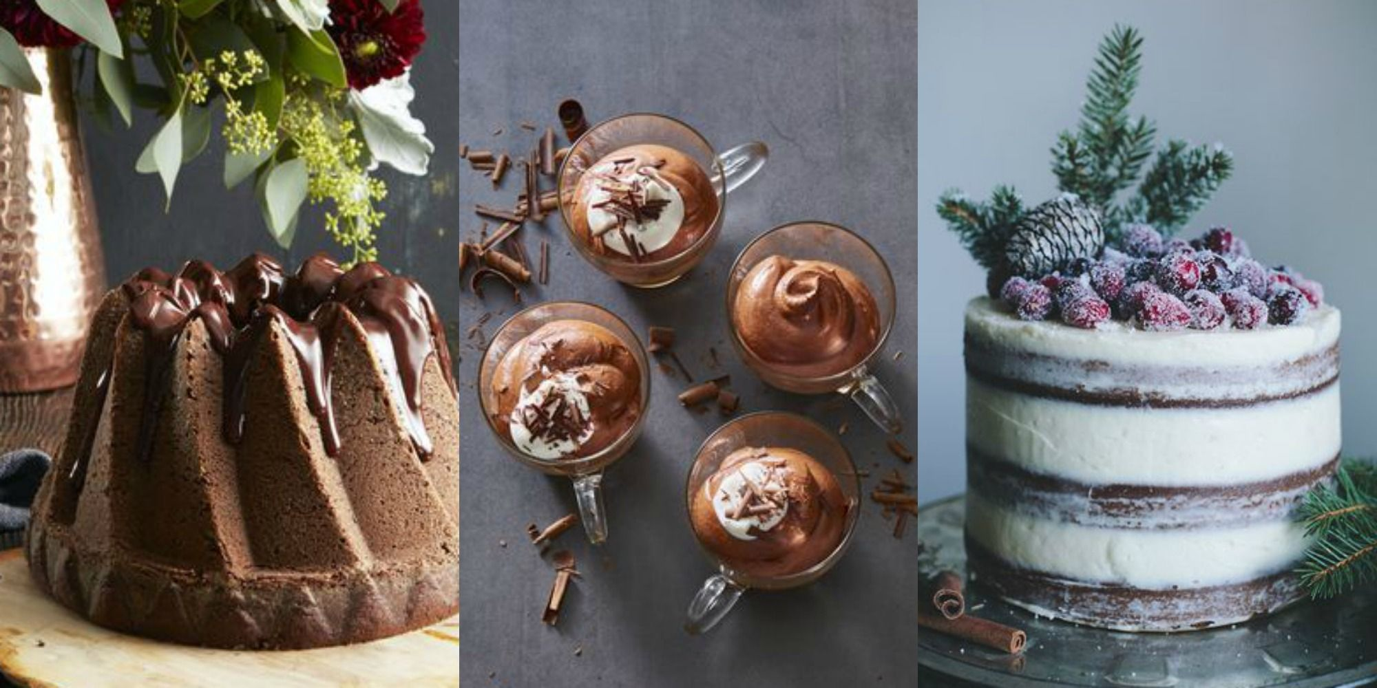 Here are some festive desserts to be presented for March 8