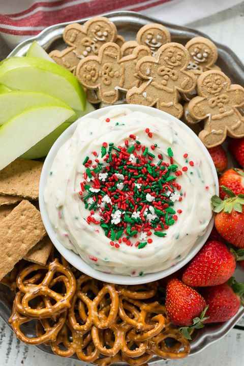 christmas desserts dip - Christmas Party Desserts