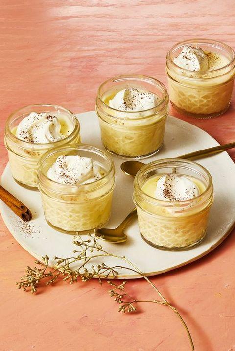 christmas desserts eggnog pudding