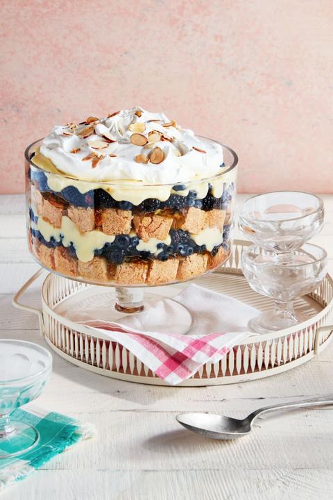 christmas desserts fruit nut trifle