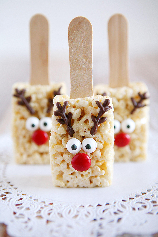 christmas desserts rice krispies