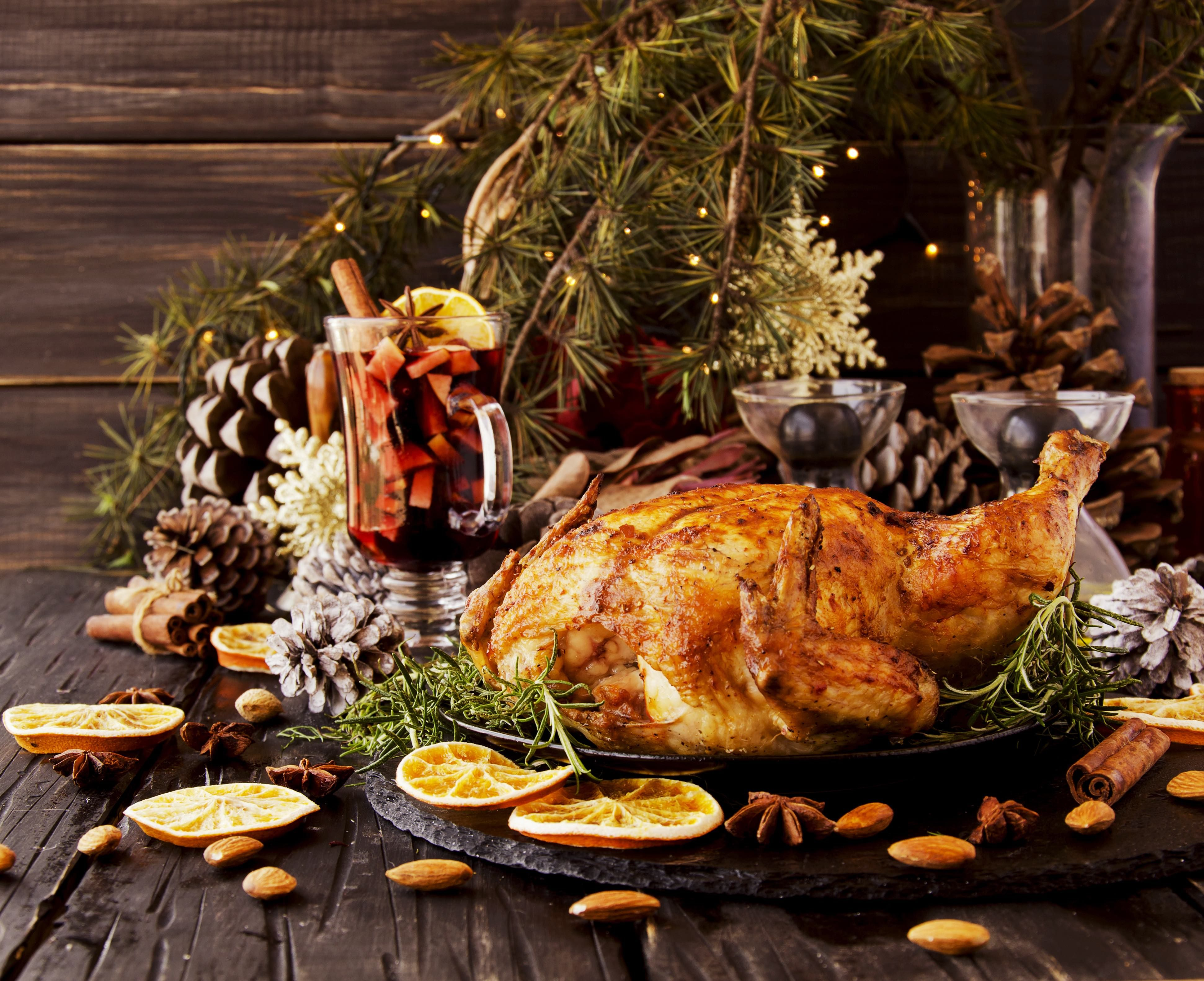Offering Free Christmas Dinners