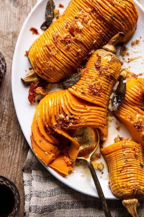 christmas dinner ideas hasselback butternut squash