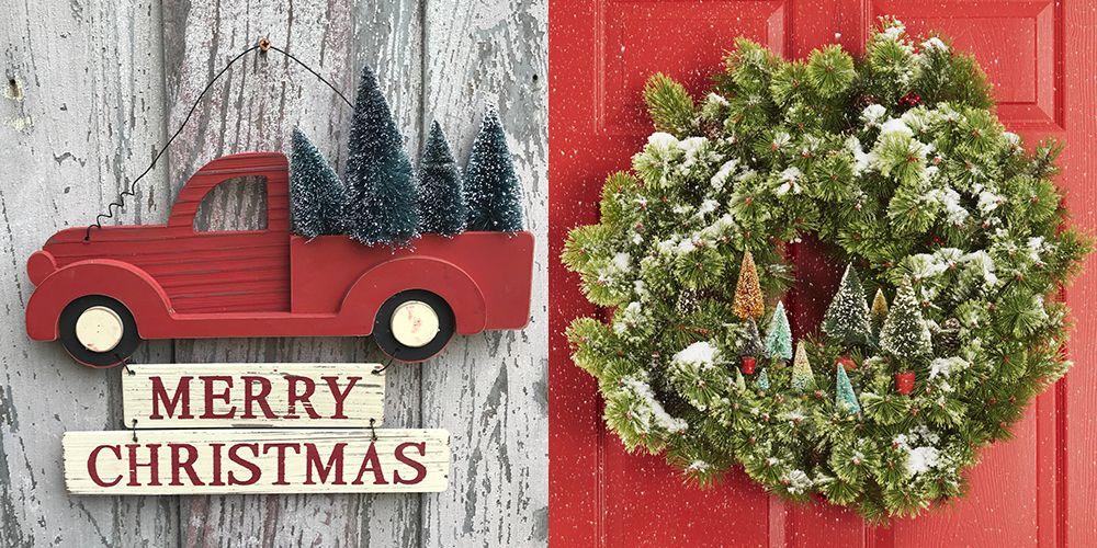 35 Christmas Door Decorating Ideas
