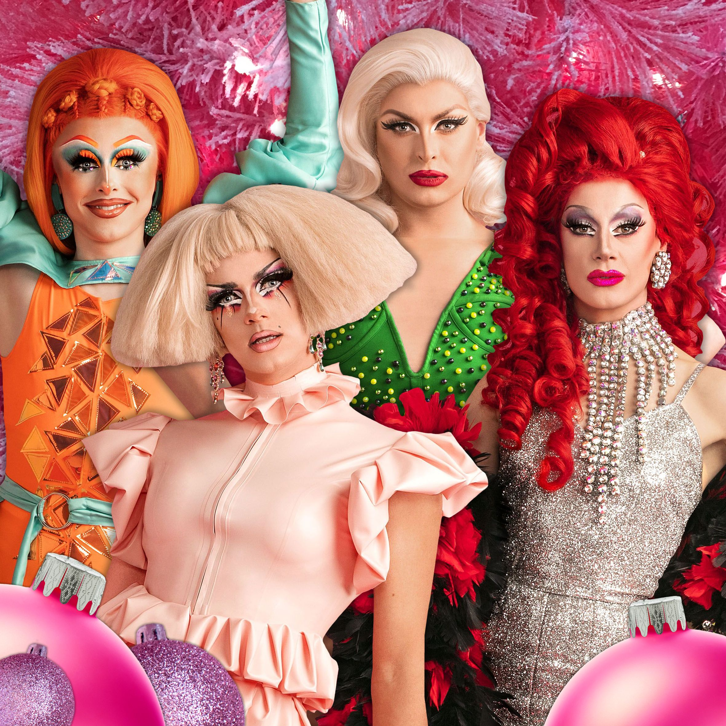 A Drag Queen Christmas 2021 Cast Rupaul S Drag Race Uk Queens Reveal Their Worst Christmas Gifts