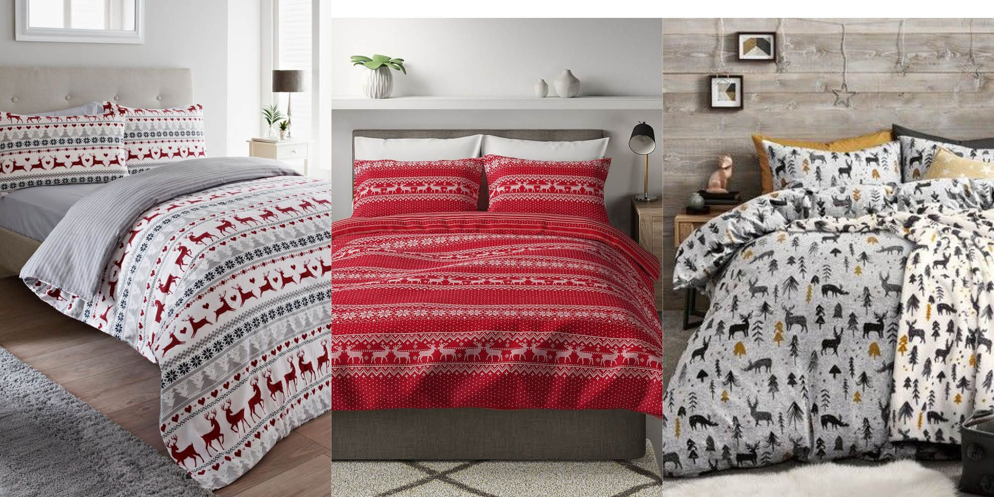 All of the most stylish Christmas bedding to buy this year