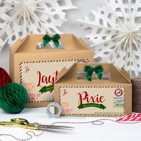 Christmas Eve Box Personalised | PARCEL FROM SANTA