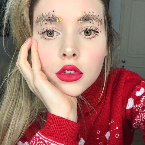 Face, Lip, Hair, Eyebrow, Pink, Cheek, Skin, Beauty, Nose, Head,