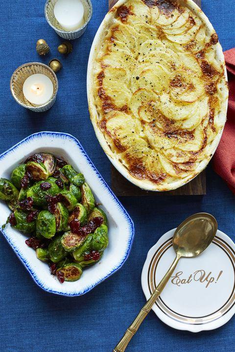 christmas foods best holiday recipe five ingredient potato gratin
