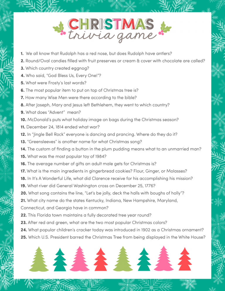 photograph regarding Free Printable Left Right Christmas Game referred to as 29 Ideal Xmas Video games Things to do for Children - Trip Youngsters