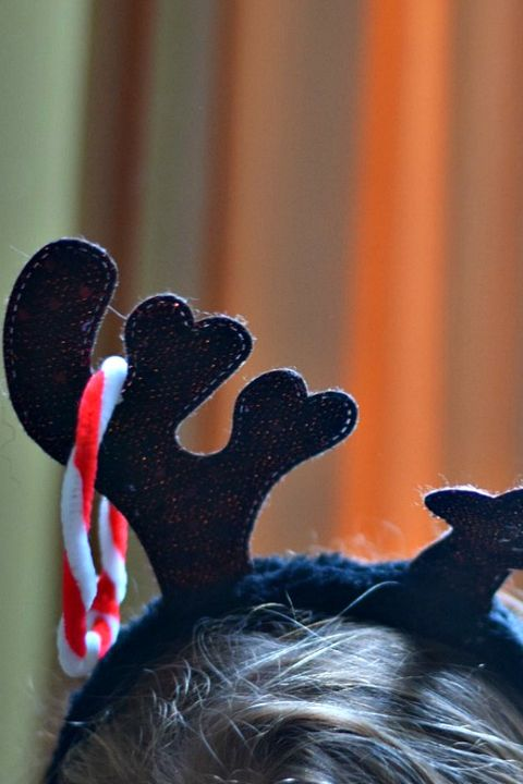 antler ring toss game, christmas games