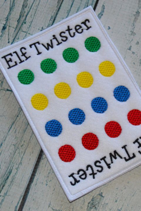 christmas games elf twister - Christmas Day Games