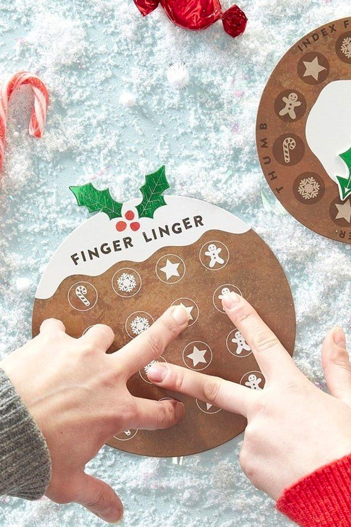 Christmas Games Finger Linger