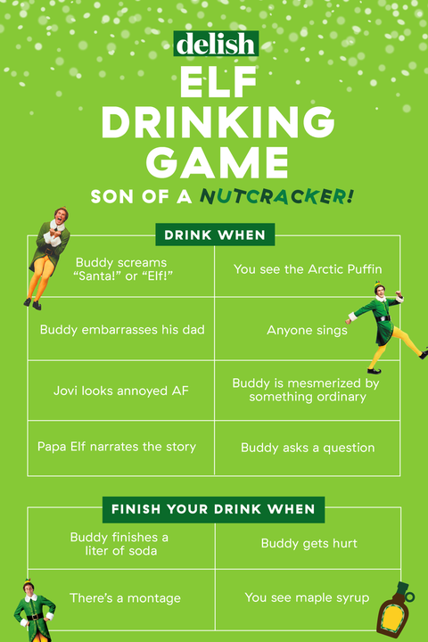 christmas games for adults elf drinking game