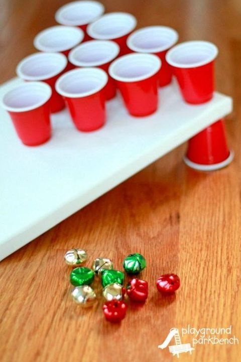 christmas games jingle bell toss