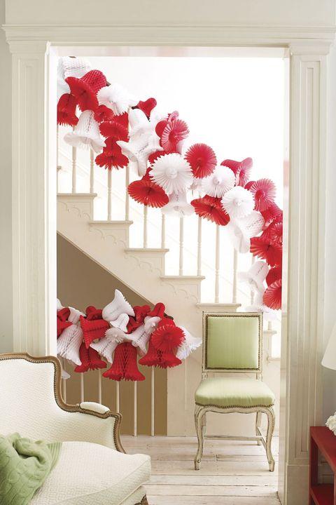 Room, Interior design, Red, Textile, Wall, Furniture, Interior design, Carmine, Paint, Linens,