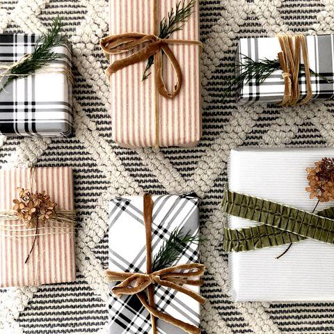 christmas gift wrapping ideas velvet