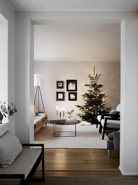 Finnish home with a minimalist take on Christmas decoration