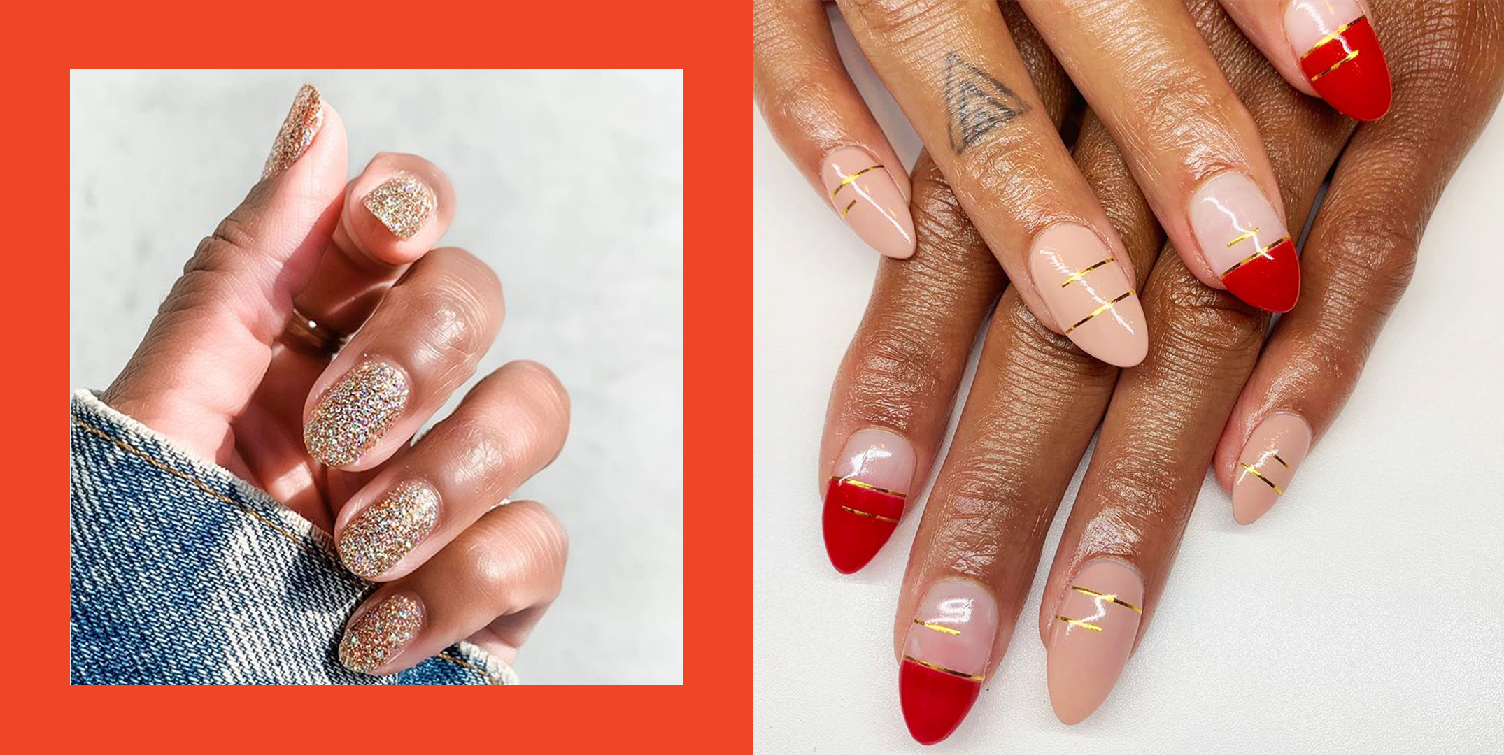 50 best christmas nails and designs of 2020 holiday nail art holiday nail art