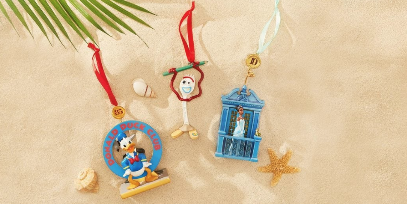 Disney Dropped A New Line Of Christmas Ornaments Including One Of Forky From 'Toy Story 4'