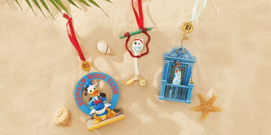 Disney Just Launched A Whole New Line Of Ornaments So Christmas In July Can Officially Begin