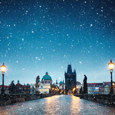 December holidays - Prague