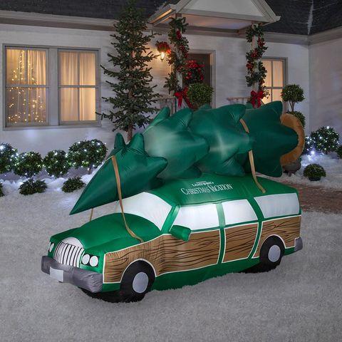 Motor vehicle, Green, Vehicle, Car, Mode of transport, Christmas, Tree, Christmas tree, City car, Compact car,