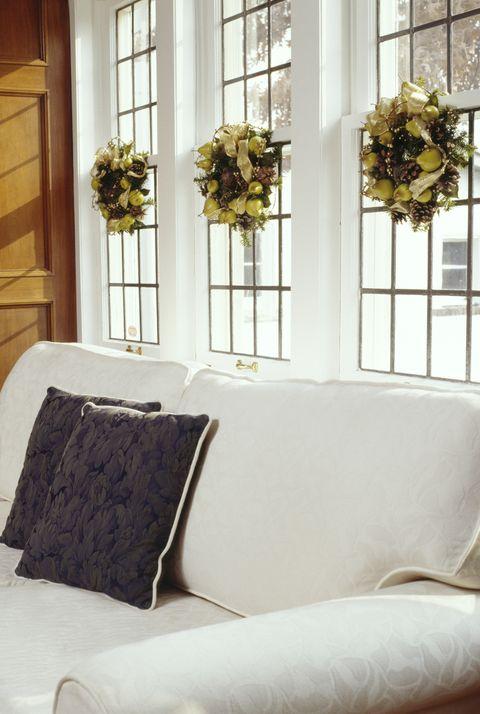 Christmas interior design of livingroom