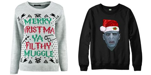 Immagini Natalizie Harry Potter.I Jumper Definitivi Di Natale Sono Quelli Di Harry Potter