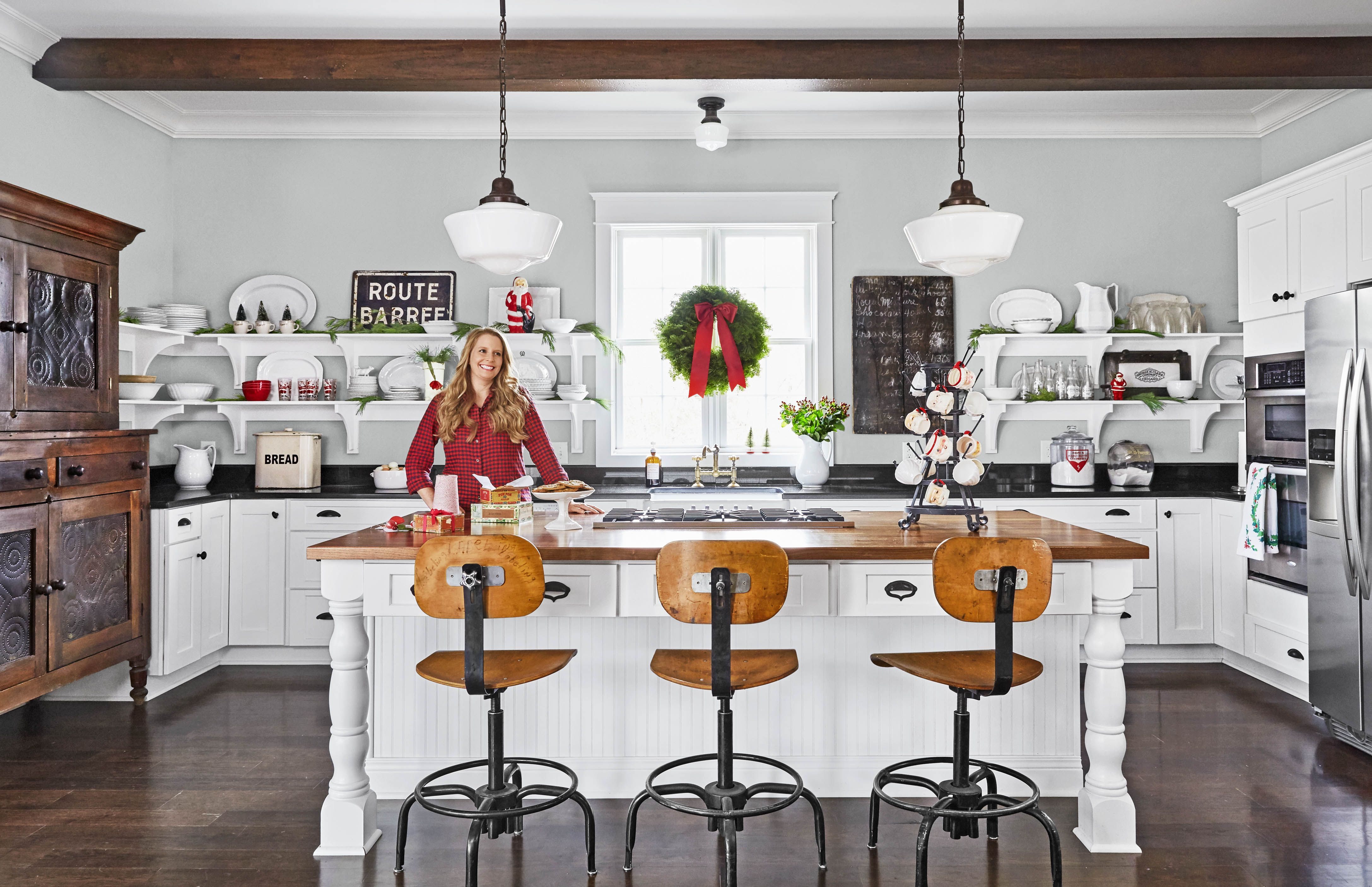 25 Christmas Kitchen Decorating Ideas , How to Decorate Your