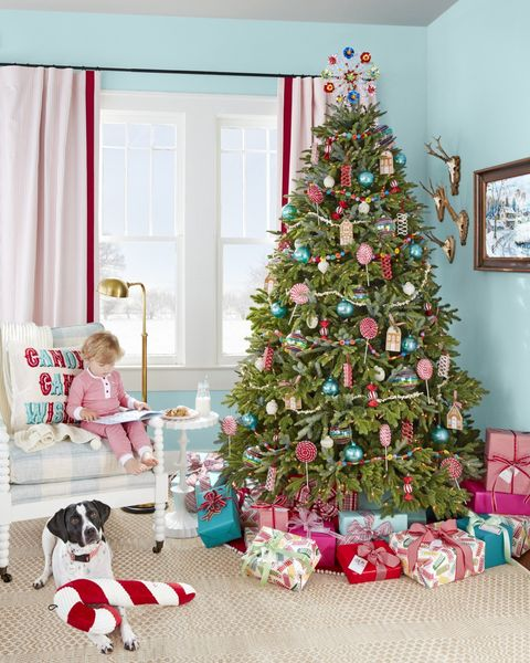 Christmas Living Room.20 Christmas Living Room Decorating Ideas How To Decorate