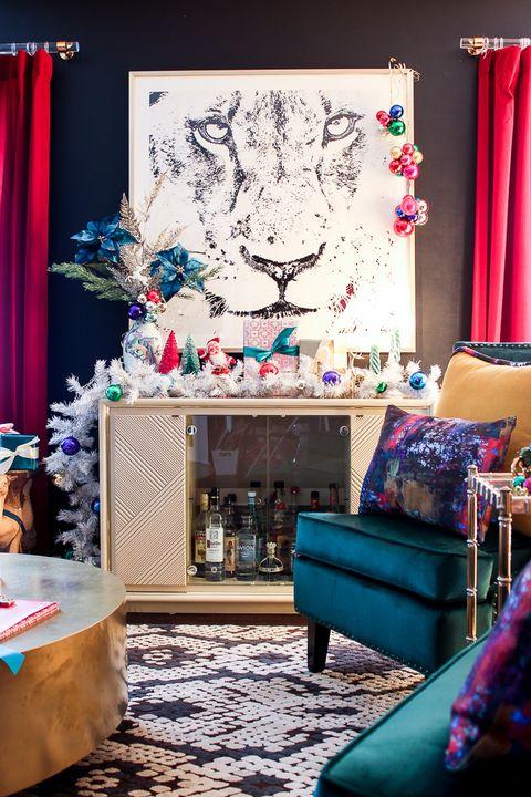 25 Stylish And Cozy Christmas Living Room Decor Ideas