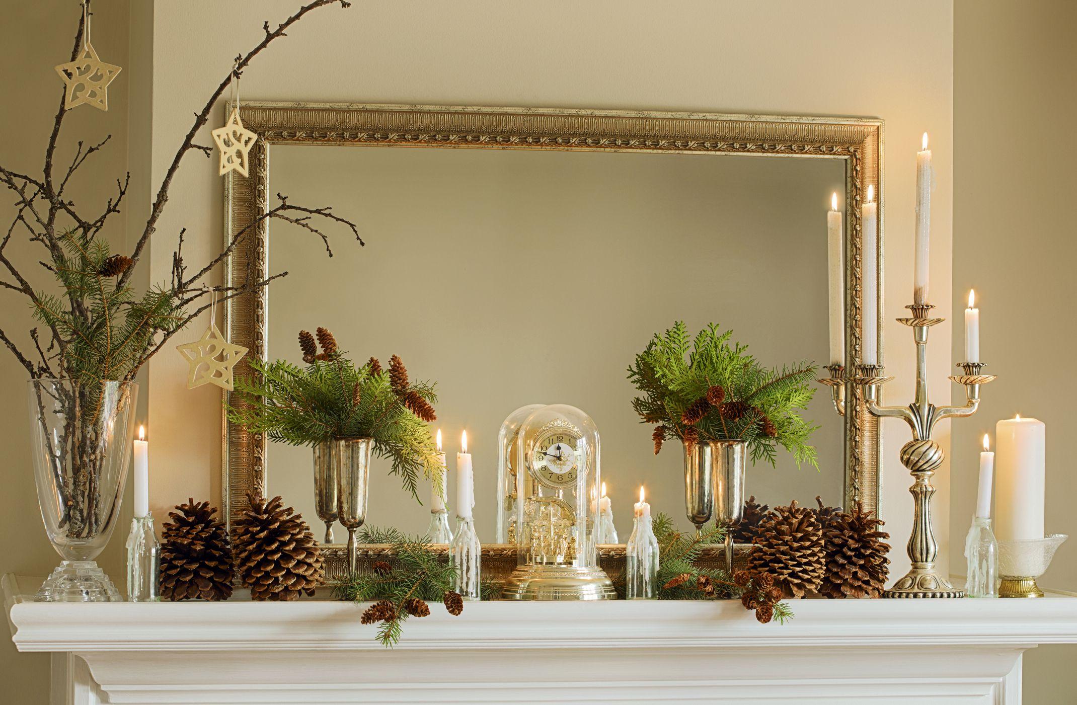 15 christmas mantel decor ideas fireplace holiday decorations15 christmas mantel decorations for a merry celebration